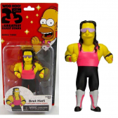 Action Figure Bret Hart The Simpsons 25Th Anniversary Series 3 Neca - Mkp000494000022