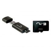 Adaptador Usb + Sd Multilaser Smarto Go Classe 4 8Gb Mc120 - Mkp000321011348