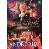 André Rieu Wonderful World Live In Maastricht - Dvd Música Clássica - Mkp000315006909
