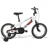 Bicicleta Infantil Gts Aro 16 Advanced Kids Pro Branco - Mkp000523000145
