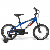Bicicleta Infantil Gts Aro 16 V-Brake Advanced Kids Pro Azul - Mkp000523000144