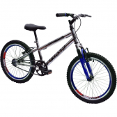 Bicicleta Ultra Cross Bmx Aro 20 Suspensão V-Break Cromada  - Mkp000368000312