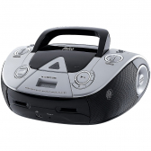Boombox Mp3/usb Player Preto/prata Philco Bivolt Pb126 - Mkp000653000811