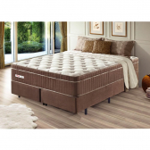 Cama Box King Size New Touch Molas Ensacadas Palemax - Mkp000800002558