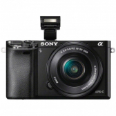 Câmera Mirrorless Preto Ilce-6000L, 24,3Mp, Wifi, Lente 16-50Mm Sony - Mkp000335002916
