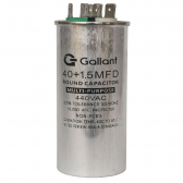Capacitor Cbb65 Gallant 40+1 5Mf +-5% 440 Vac - S20021361501002001