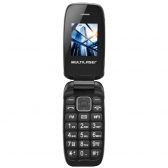 Celular Flip Up P9022 Multilaser, Dual Chip, Mp3, Rádio Fm, Bluetooth - Preto - Mkp000335002776