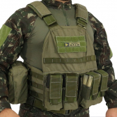 Colete Tatico - Plate Carrier - Verde - Mkp000586000121
