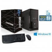 Computador Intel Windows Centrium Fasttop 7100 Intel Core I3-7100 3.9Ghz 4Gb Ddr4 500Gb Windows10 - Mkp000321001118
