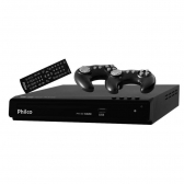 Dvd Game Ph150, Usb, Mp3, 2 Joysticks, Preto Philco Bivolt - Mkp000335003429
