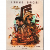 Fernando E Sorocaba Sou do Interior Ao Vivo - Cd+Dvd Sertanejo - Mkp000315007127