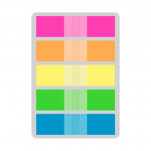 Flag Pop-Up 12X45Mm 5 Cores Neon 100 Folhas Keep - Mkp000278005069