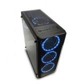 Gabinete Gamer Modoc Painel Lateral Temperado Preto Warrior - Mkp000278003443