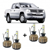 Kit Faróis Super Led 6000K Amarok 2011/2014 - Mkp001041000513