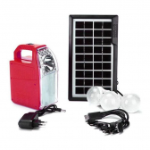 Kit Luz Emergencia Solar Luminaria Placa Energia Led - Mkp000936000013