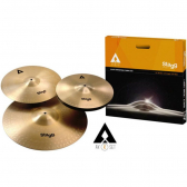 Kit Pratos Axk-Set Com Hi-Hat 14'/crash 16'/ride 20' Stagg - Mkp000315005928