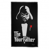 Pano Multiuso Em Microfibra Geek Side The Your Father - Mkp001408000093