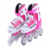 Patins Bel Sports All Style Street Rollers P Rosa - Mkp000916000642