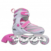 Patins In Line Ajustável Winmax Rosa (38/41) - Mkp000028000308