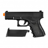 Pistola Airsoft Spring Glock Full Metal 6Mm Galaxy Gala-G15 - Pi1540104103101021