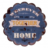 Placa Nuvem Together 30X30X10 Cm Trevisan Concept - Mkp000196000531