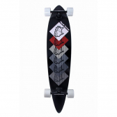 Skate Longboard Preto Dogs Red Nose - Mkp000249001724