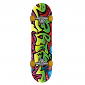 Skate New Style Ahead Sports / Winmax Wme05015 - Rosa Com Amarelo Mkp000028000240