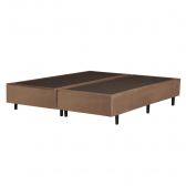 Sommier Queen Size Veludo Touch Florida 158X198X37Cm Caramelo - Mkp000800003190